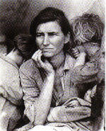 Dorothea Lange: Migrant Mother, Kalifornien 1936